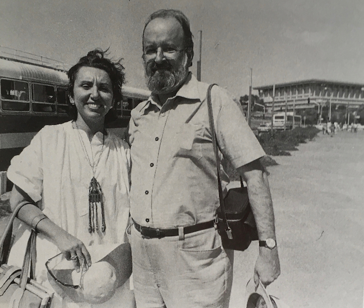 Geraldine Sherman and Robert Fulford
